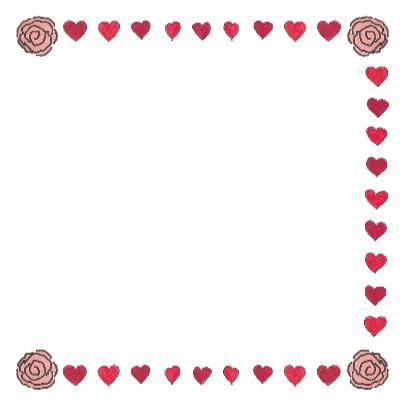 Valentijnskaart met muis en hart 3