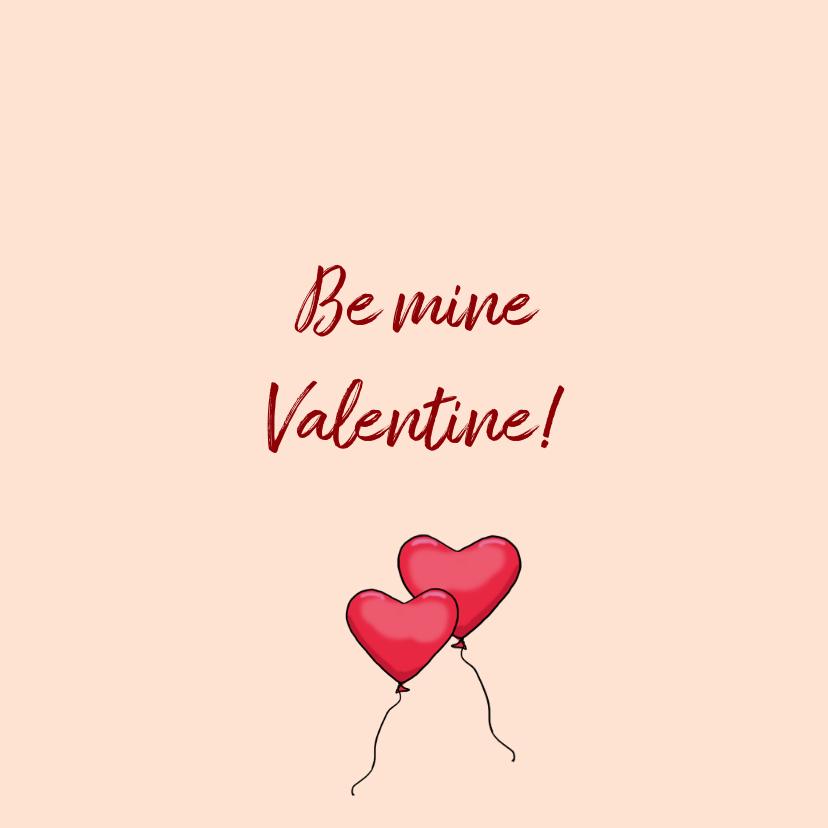 Valentijnskaart Mini ballon av 3