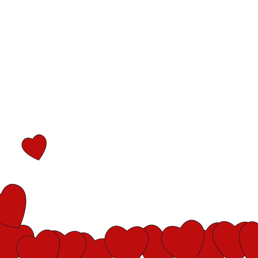 Valentijnskaart pinguïn met hart 2