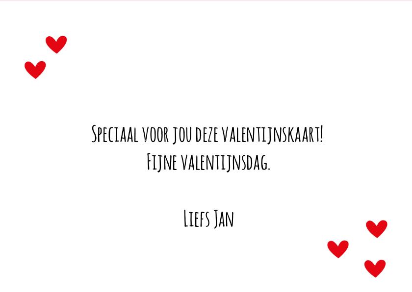 Valentijnskaart sweetheart 3