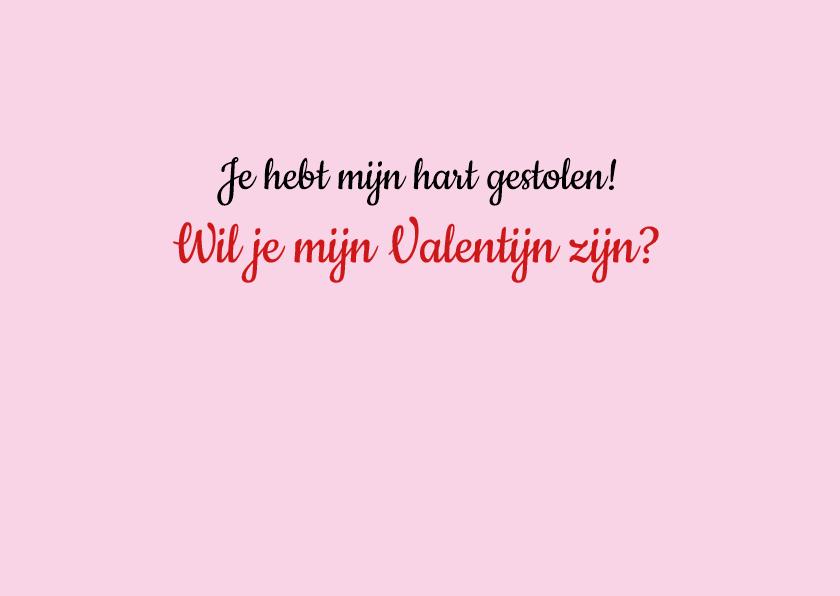 Valentijnskaart tortelduifjes 2