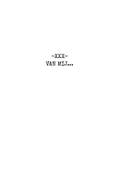Valentijnskaart zwartwit tekst 3