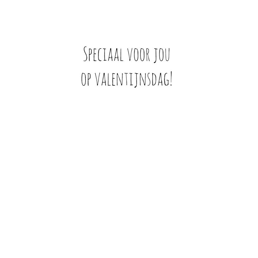 Valentijnskaart ZwartWit - WW 3