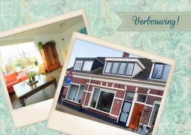 Verhuiskaarten - Verbouwing! Barok groen - BK