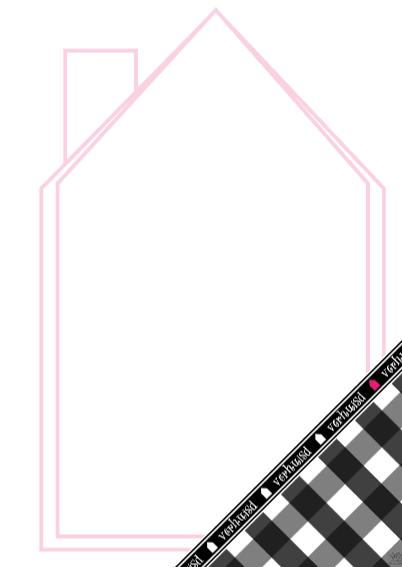 Verhuisd zwart wit roze 3