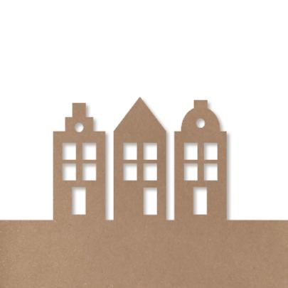 Verhuiskaart BrownPaperNewHouse 2