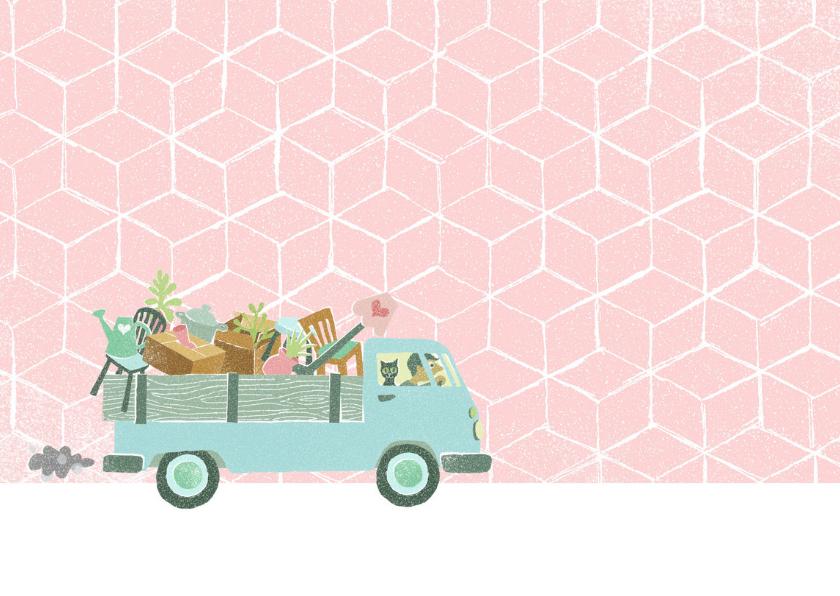 Verhuiskaart busje volkswagen samenwonen 2