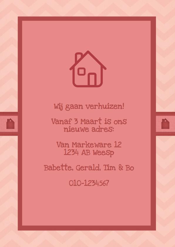 Verhuiskaart Hip Chevron Vrolijk 3