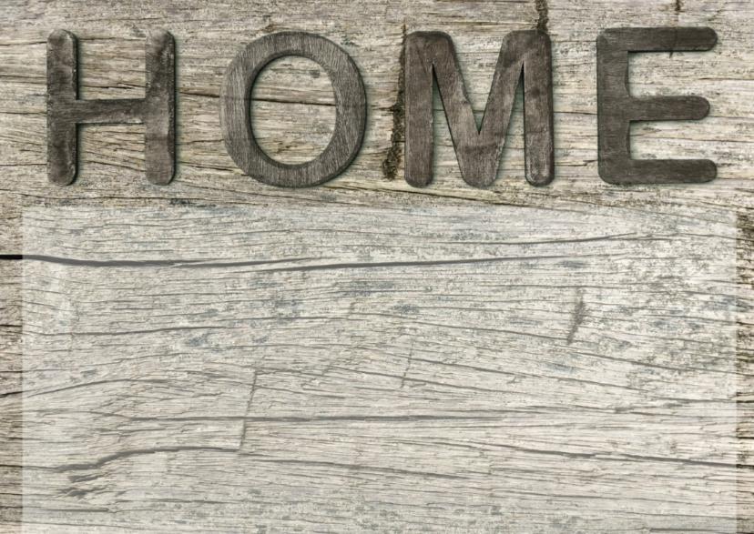 verhuiskaart Home hout 2