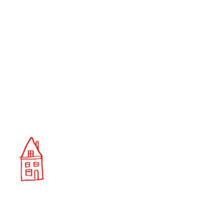 Verhuiskaart huisjes 3 IB 2