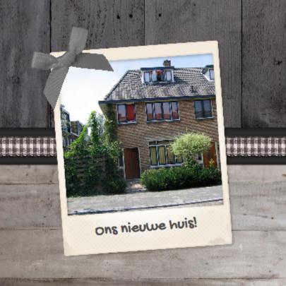 Verhuiskaart Klassiek Eigen foto 2