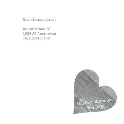 Verhuiskaart Love Home Heart 3
