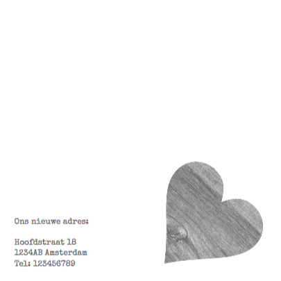 Verhuiskaart Love Home 3
