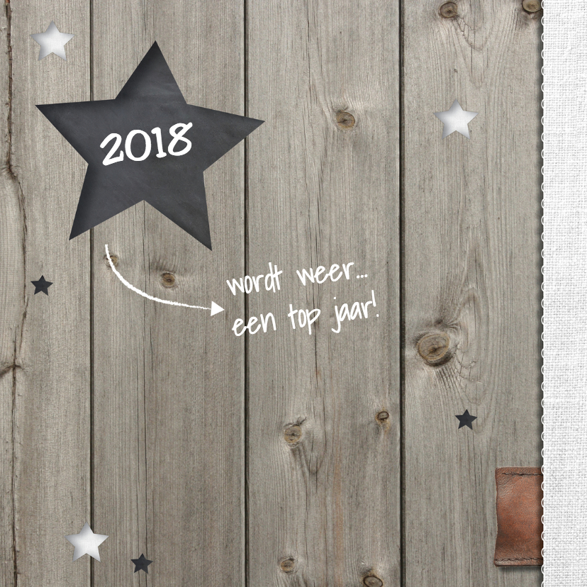 Verhuiskaart met Nieuwjaarsgroet 2