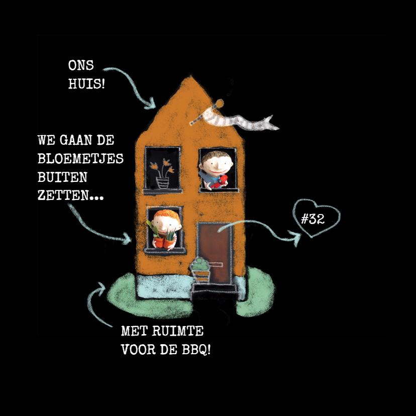Verhuiskaart - Ons huis - MW 2