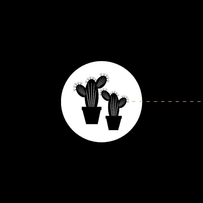Verhuiskaart samenwonen cactus 2