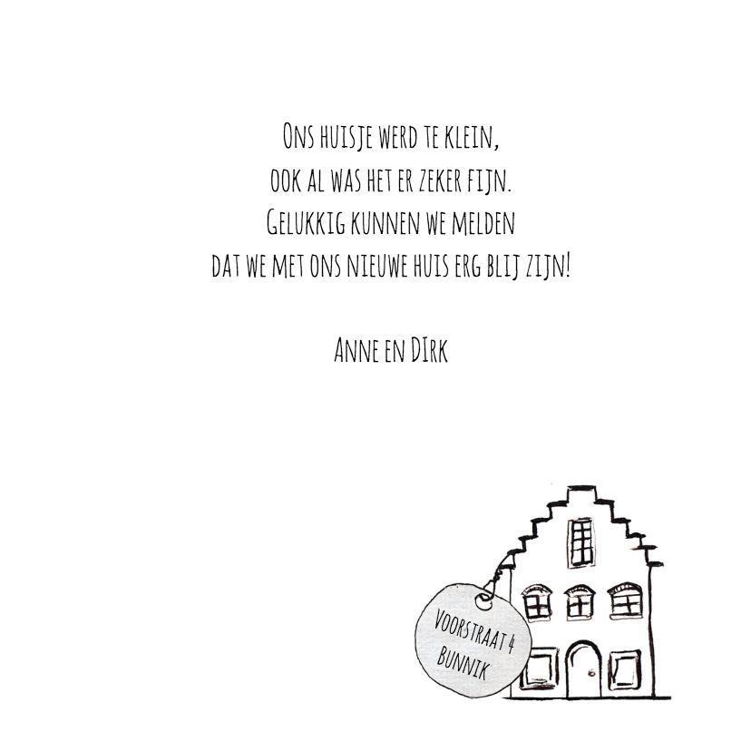 Verhuiskaart sleutel nieuw huis verhuiskaarten kaartje2go for Nieuwe woning wensen