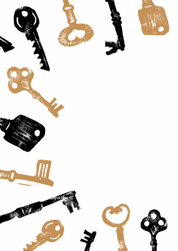 Verhuiskaart sleutel stempels 2