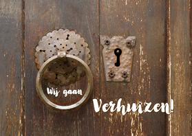 Verhuiskaarten - Verhuizen deur - adreswijziging - OT
