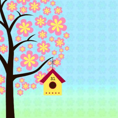 Verhuizen met boom en vogeltjes 2
