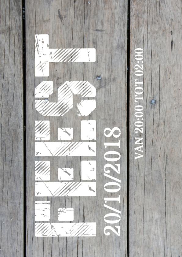 Verjaardag 40 jaar uitnodiging 2
