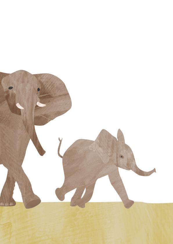 Verjaardag 6 jaar met olifant 2