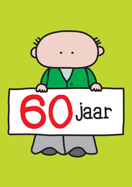 Bedwelming Verjaardag 60 Jaar - Verjaardagskaarten | Kaartje2go &RE25