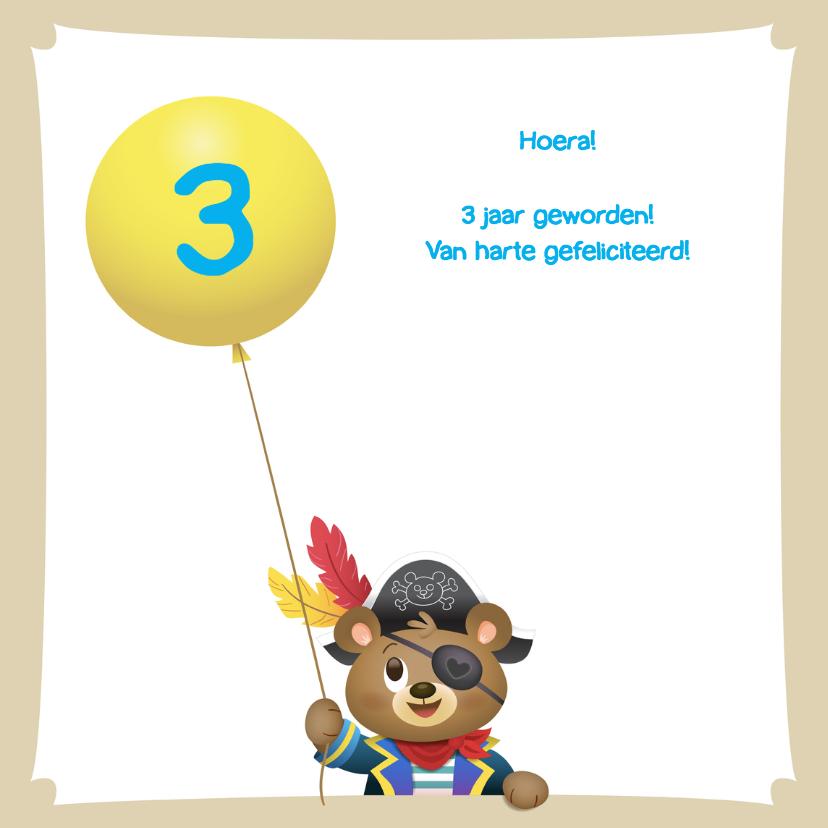 Verjaardag beer - TW 3