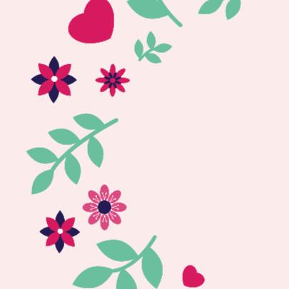 Verjaardag bloem 1 2