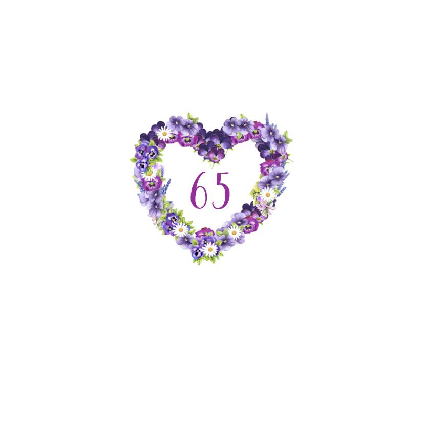 verjaardag bloemenhart leeftijd 2