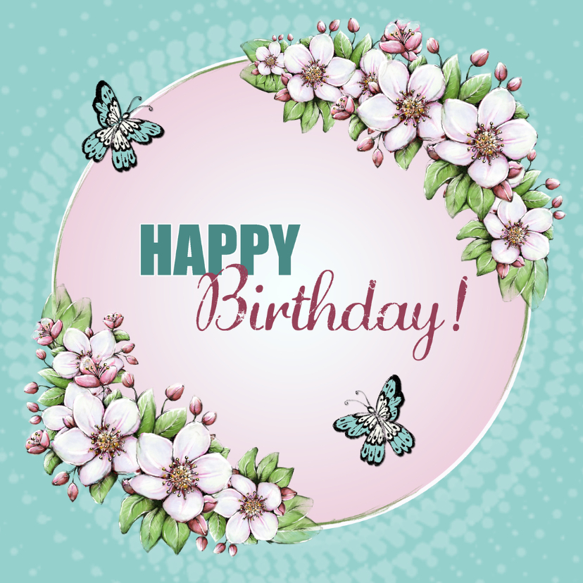 Top Kaart Verjaardag Vrouw Di 54 Blessingbox