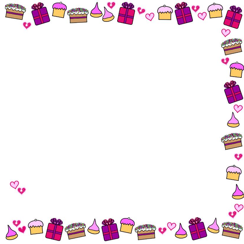 Verjaardag  cadeautjes cupcake 3
