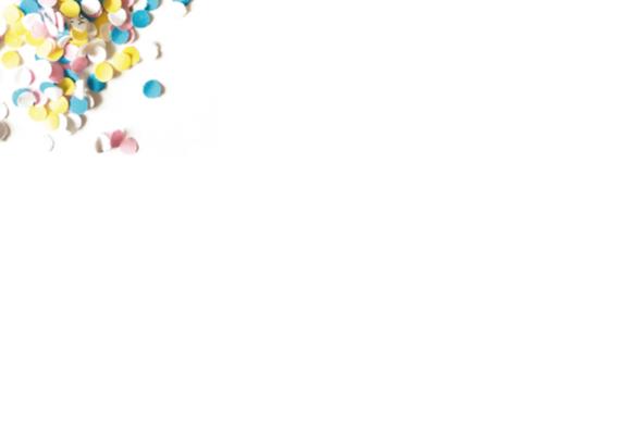 Verjaardag Confetti Hiep Hoera 2