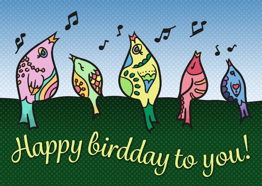 Verjaardag - happy birdday!