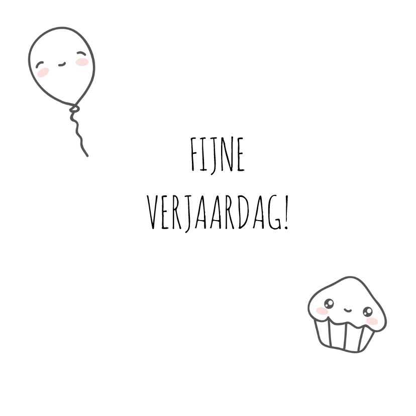 Verjaardag - Happy Cupcake 3