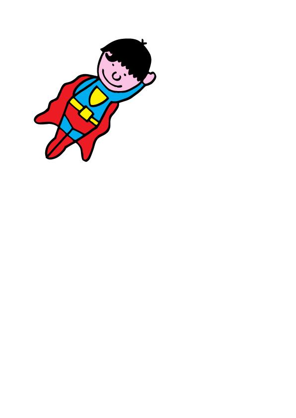 verjaardag jongen stoer superman 2