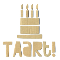 Verjaardagskaarten - Verjaardag Karton Taart