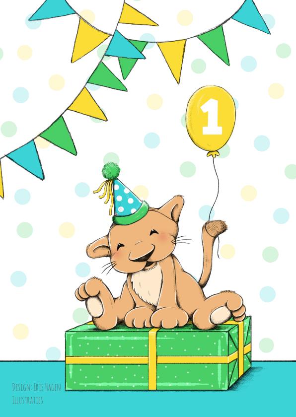 Verjaardag kind leeuw feest - IH 2