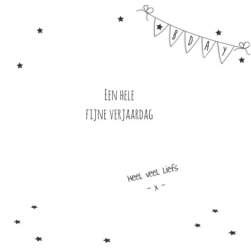 Verjaardag - Kitten Ballonen Jarig - Roze 3
