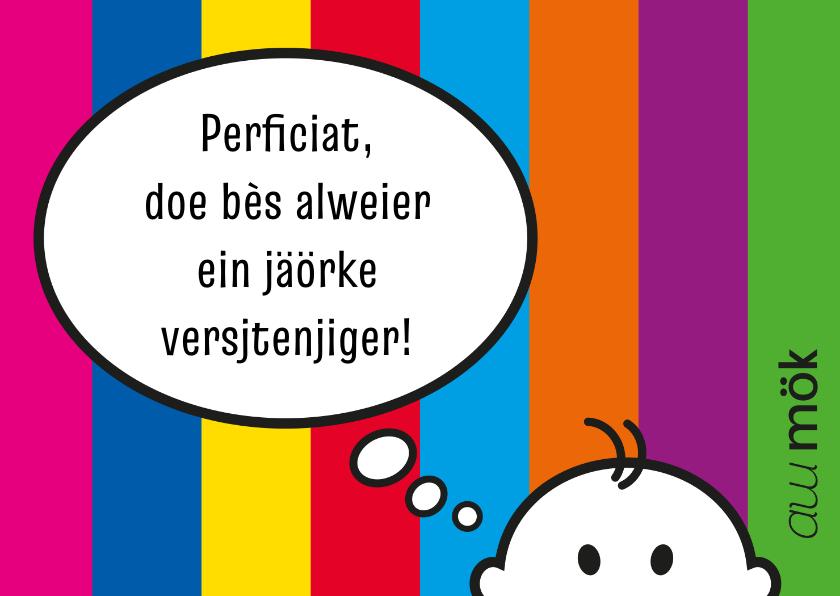 proficiat of gefeliciteerd Verjaardag Limburgs proficiat | Kaartje2go proficiat of gefeliciteerd