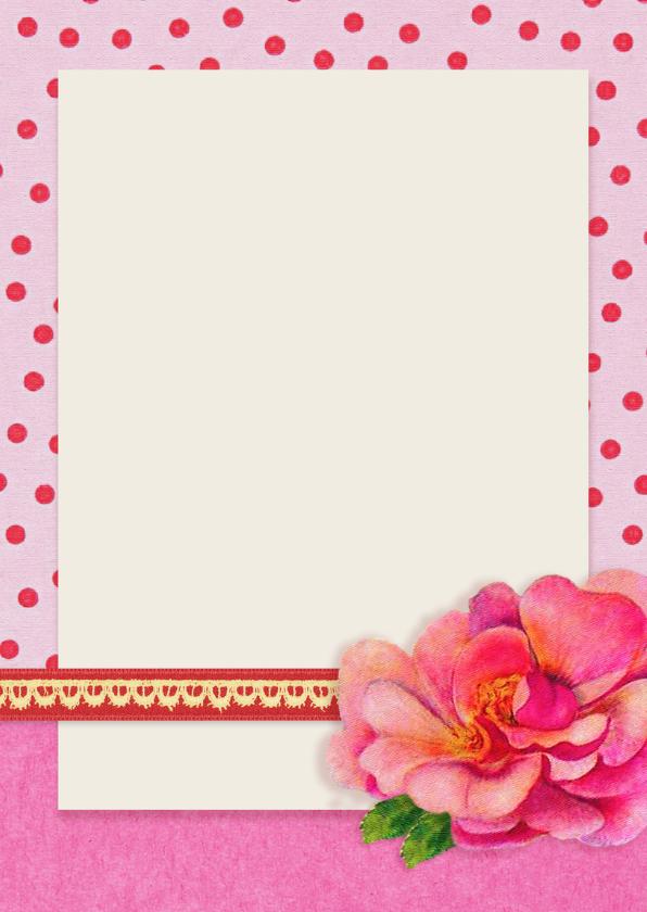 Verjaardag Meisje 8 roze 3