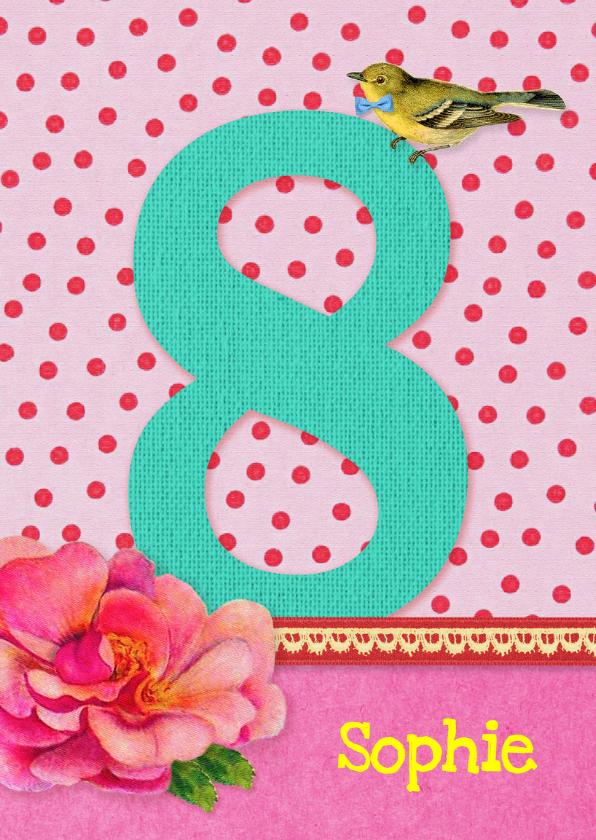 8 Jaar Verjaardag