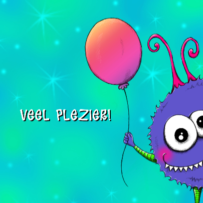 Verjaardag Monshi Ballon - IH 3