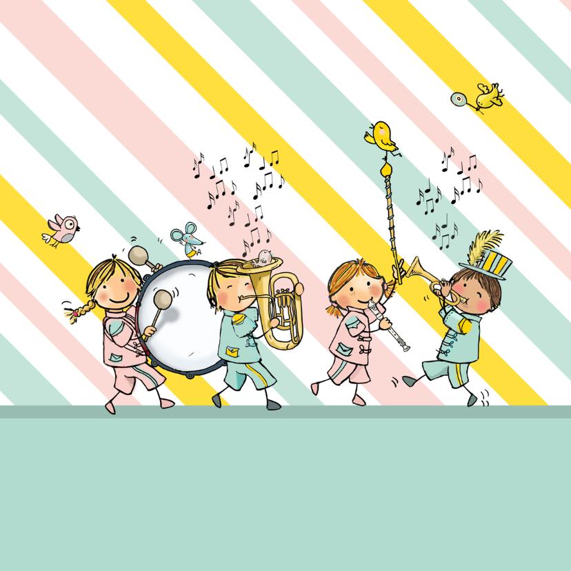 Verjaardag orkest circus av 3