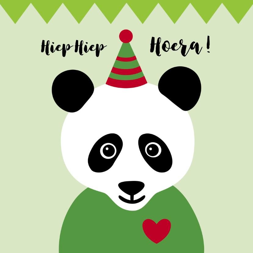 Verjaardag-Pandabeer is Jarig-HK