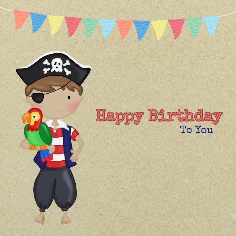 Verjaardag Piraatje