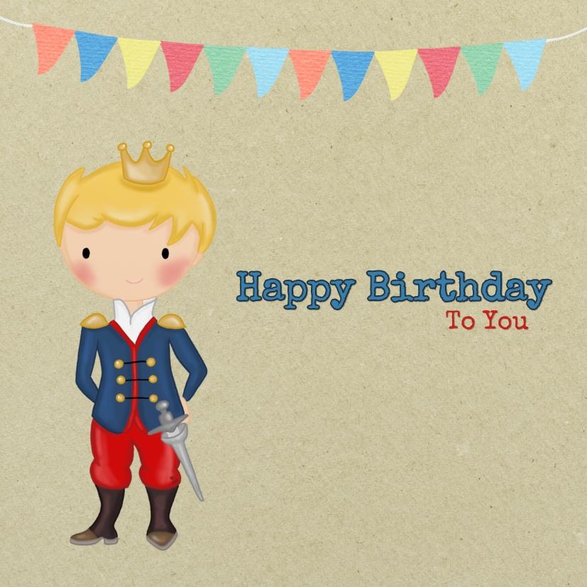 Verjaardag Prinsje Zwaard