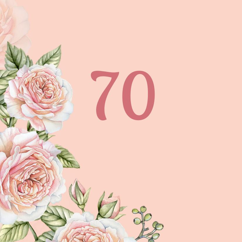 Verjaardag romantische rozen 2