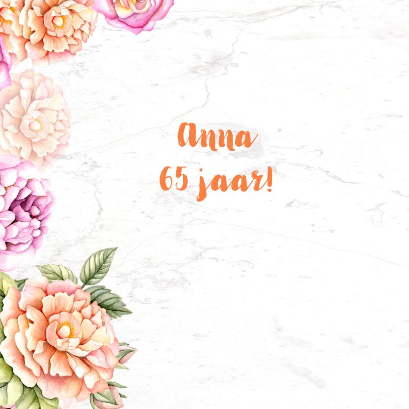 Verjaardag rozen aquarel 2