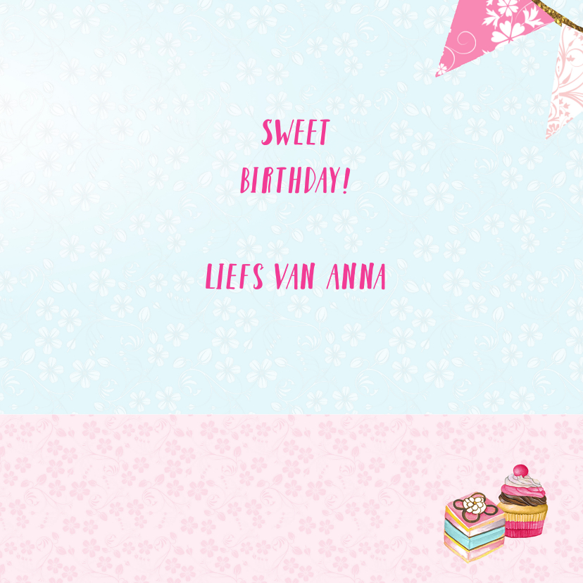 Verjaardag stolp taartjes 3